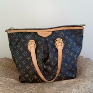 Louis Vuitton Monogram Palermo Shoulder Tote Bag